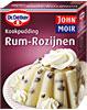 Kookpudding Rum Rozijnen Smaak (Dr. Oetker)
